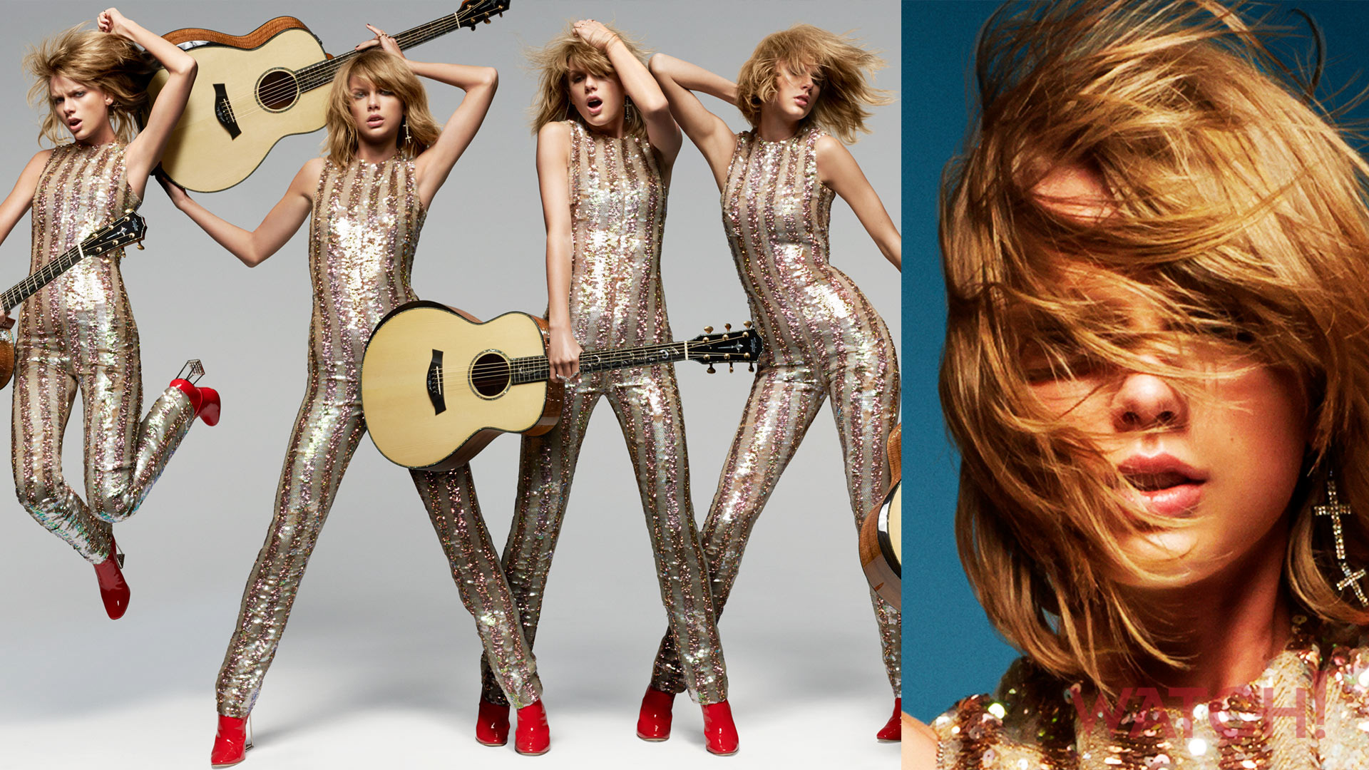Taylor Swift shimmies off her reputation