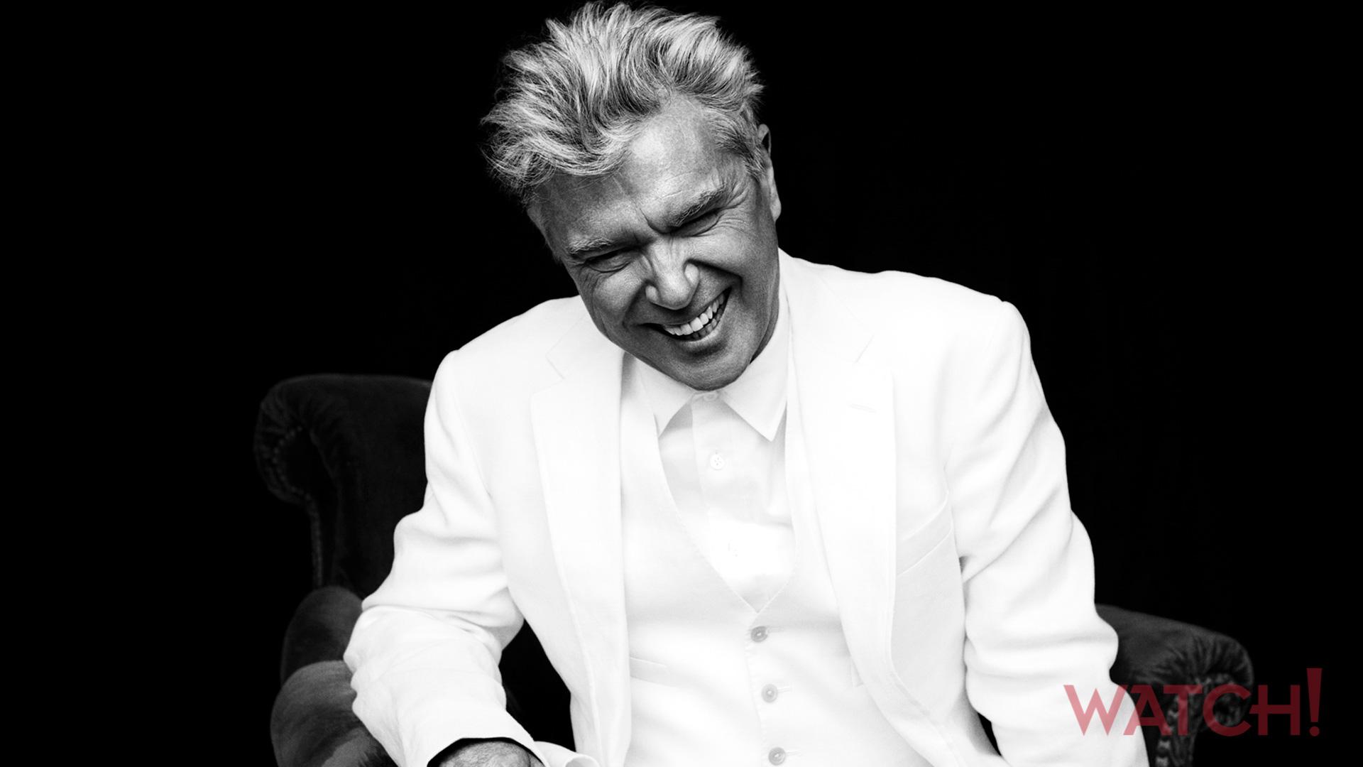 David Byrne keeps the good times rolling