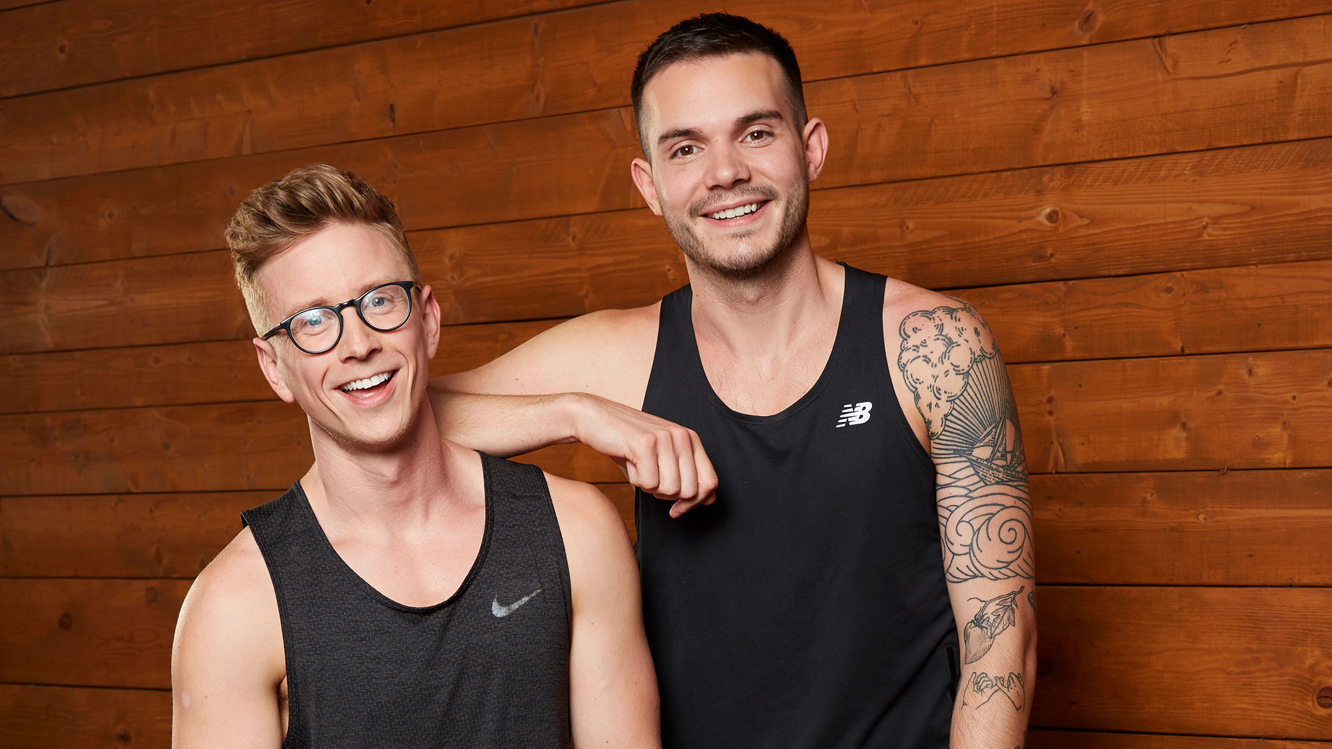 Tyler Oakley and Korey Kuhl (Best Friends)