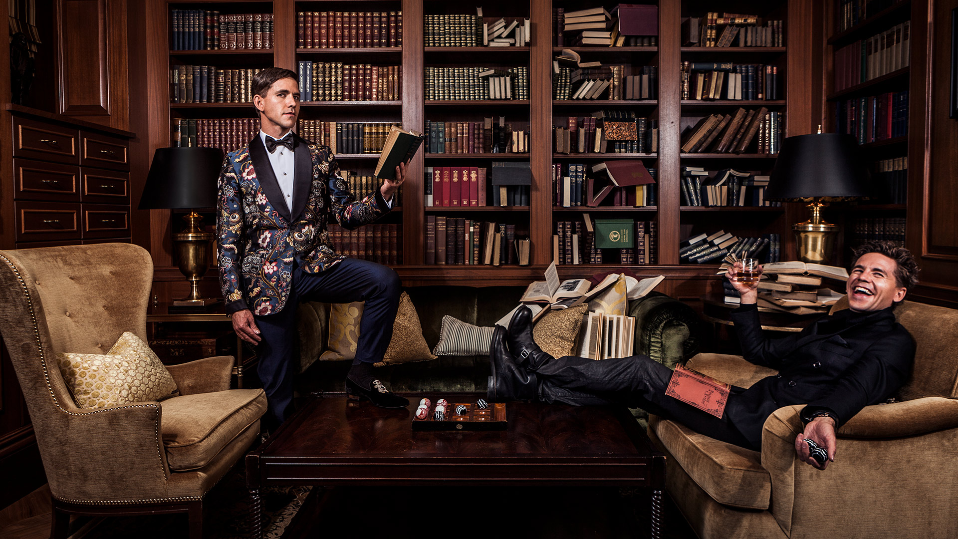 Brian Dietzen showing off two sides of his personality