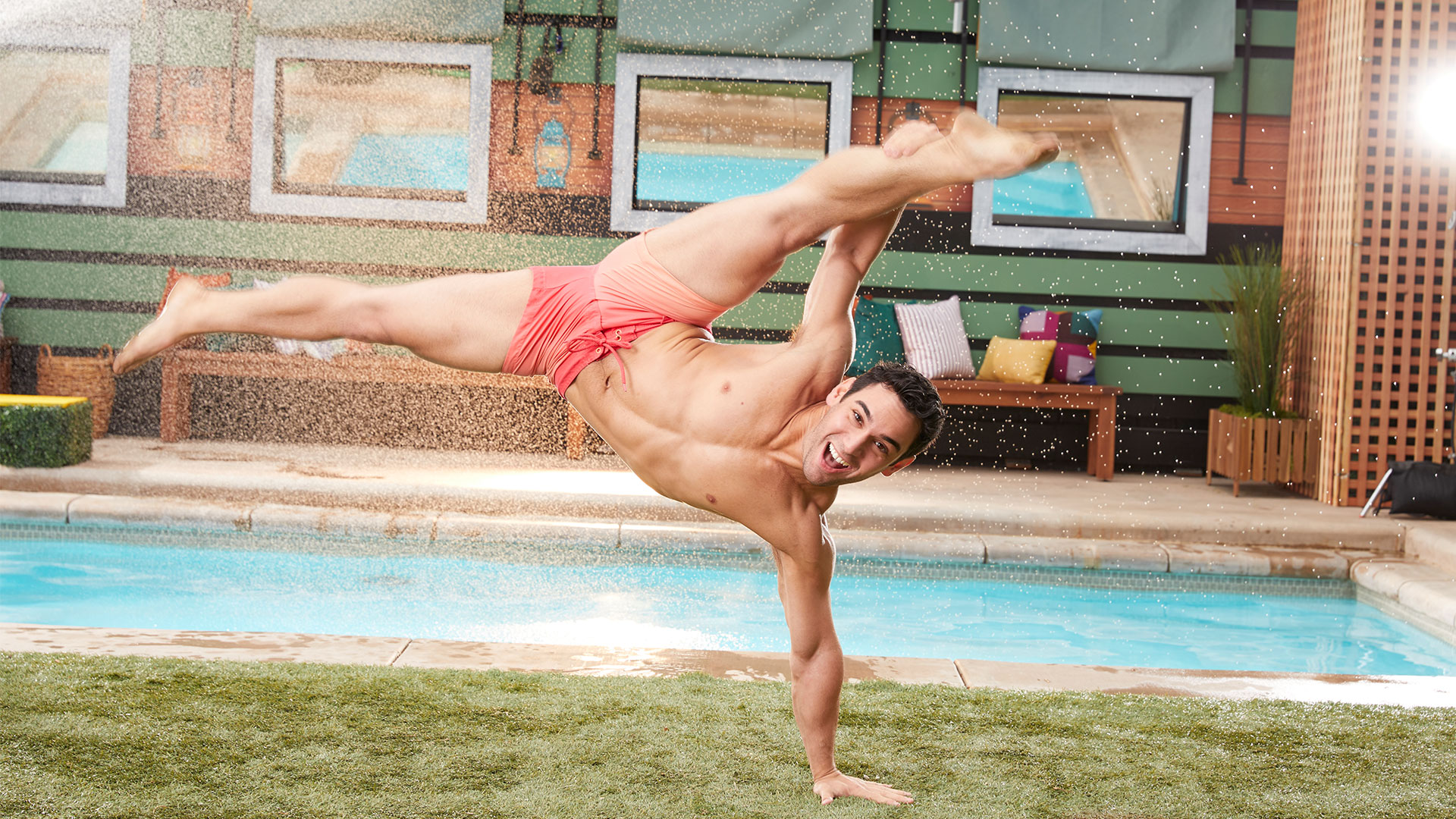 Indoors or out, Tommy Bracco's got the moves to steal the spotlight in the Big Brother house.