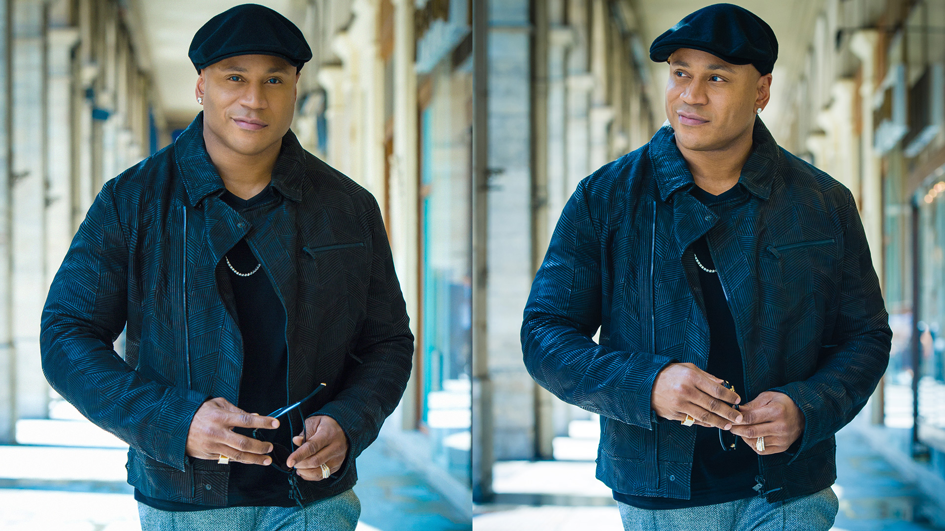 LL COOL J shining in the City of Light