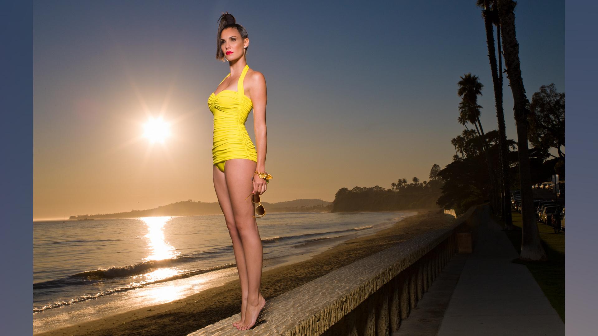 Daniela Ruah delivering that California dreamy