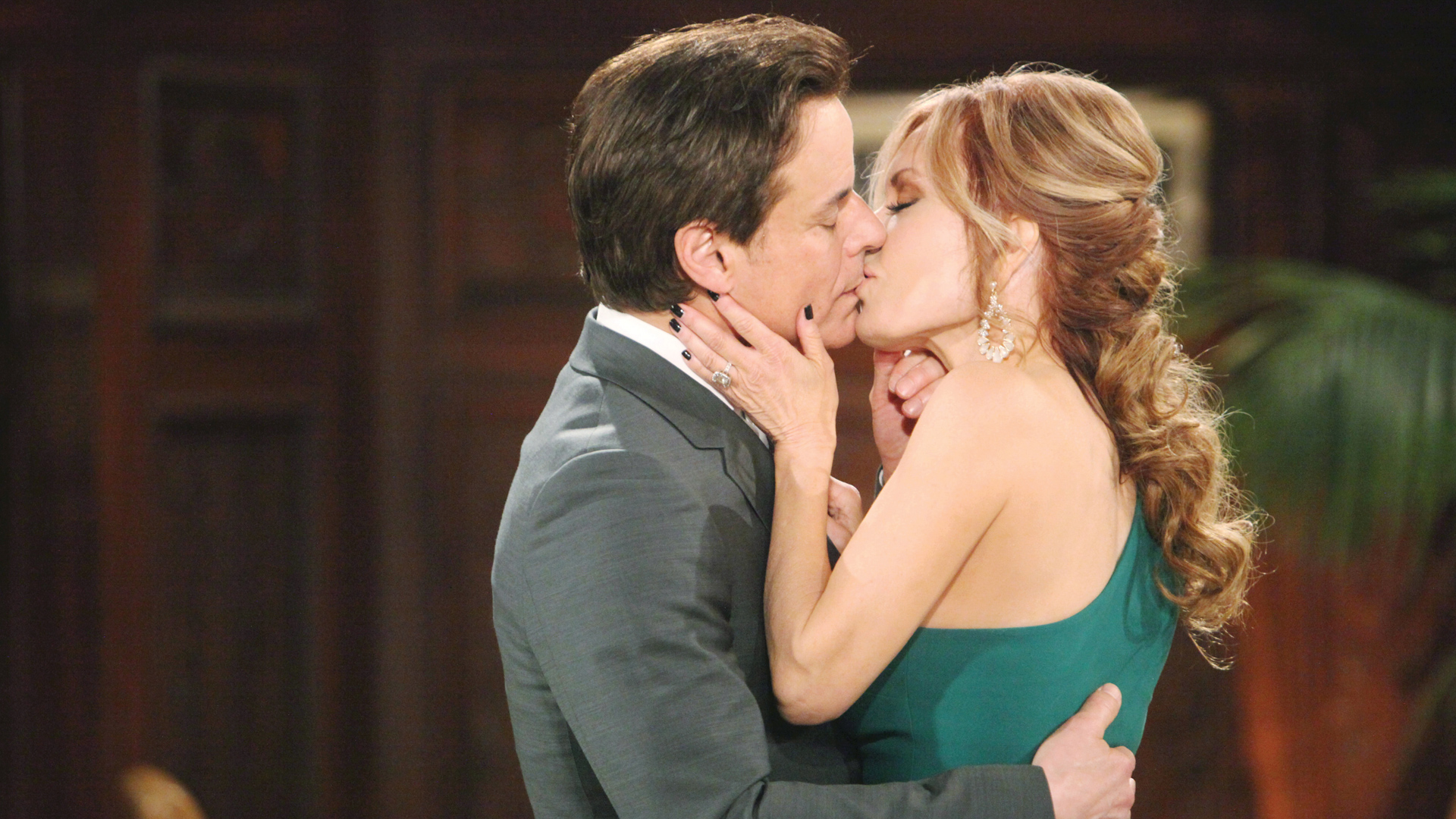 Christian Jules Le Blanc and Tracey E. Bregman, The Young and the Restless