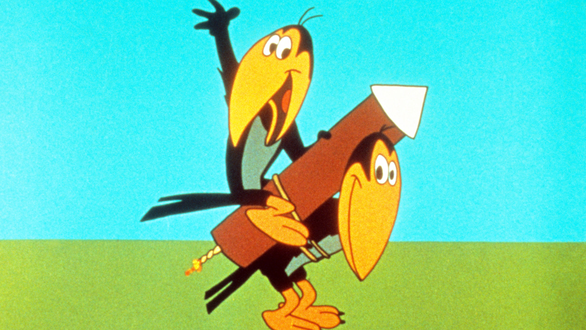 Heckle and Jeckle (1956–1960, 1965–1966; revived on NBC from 1969–1971)