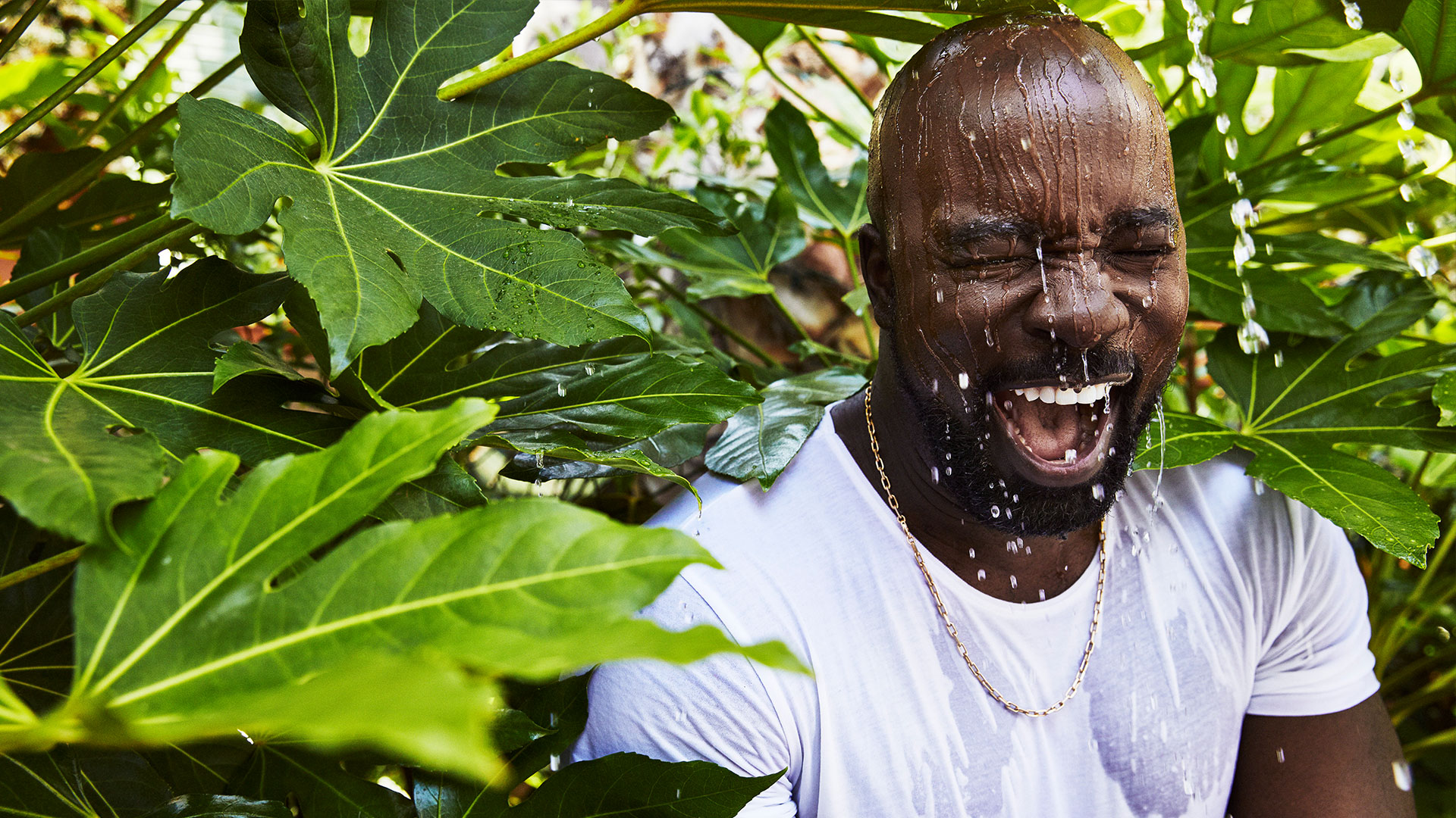 ​Mike Colter keeps things cool