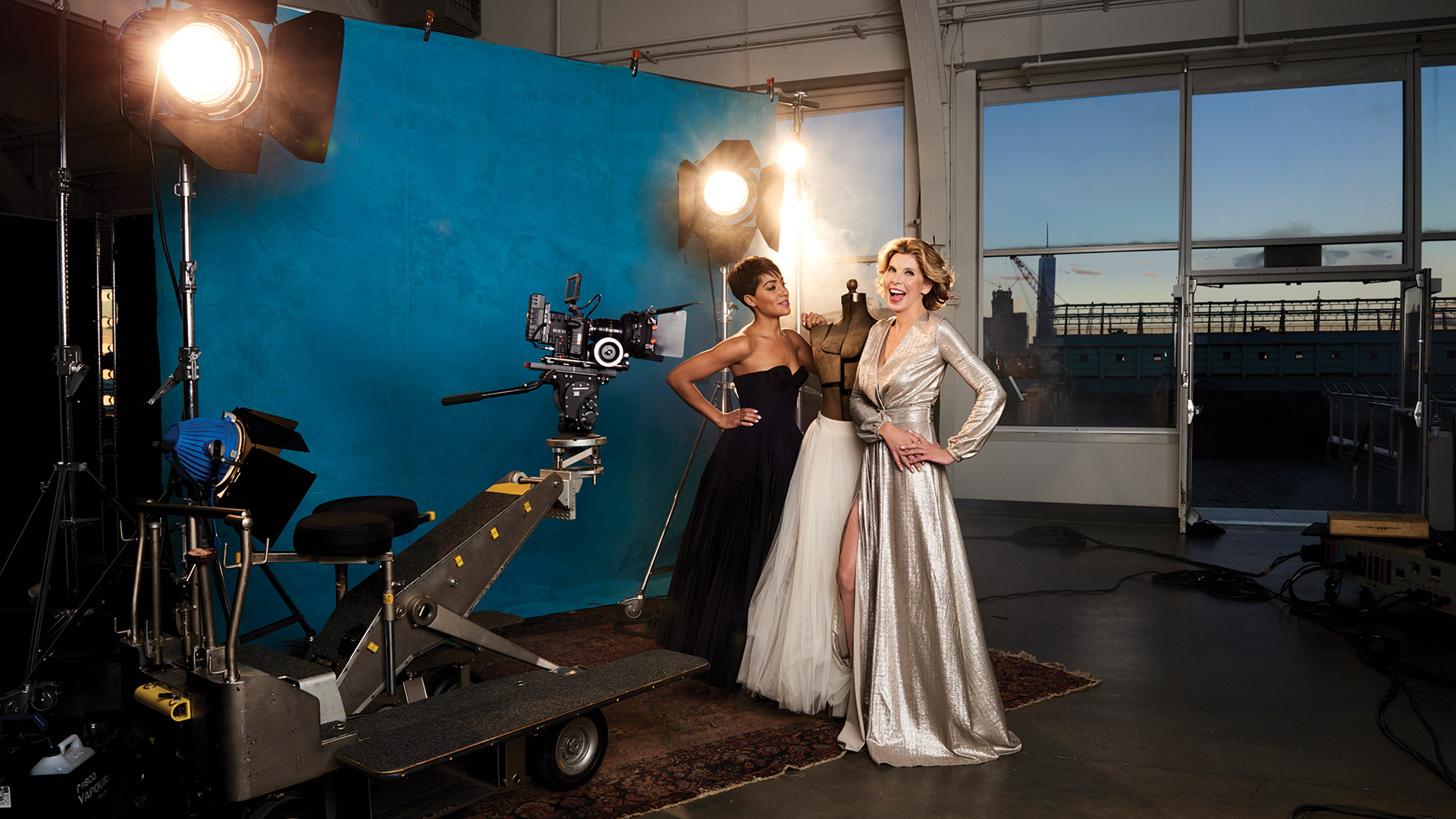 Cancel your plans and have a TV date night with Christine Baranski and Cush Jumbo!