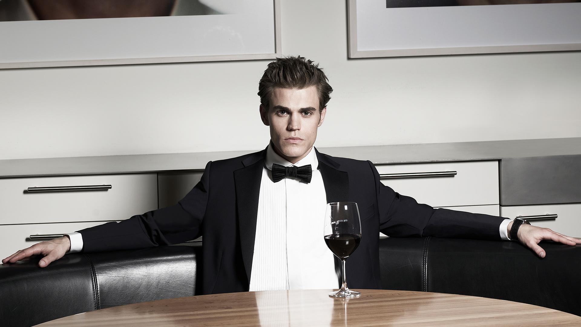 One handsome guy in black tie