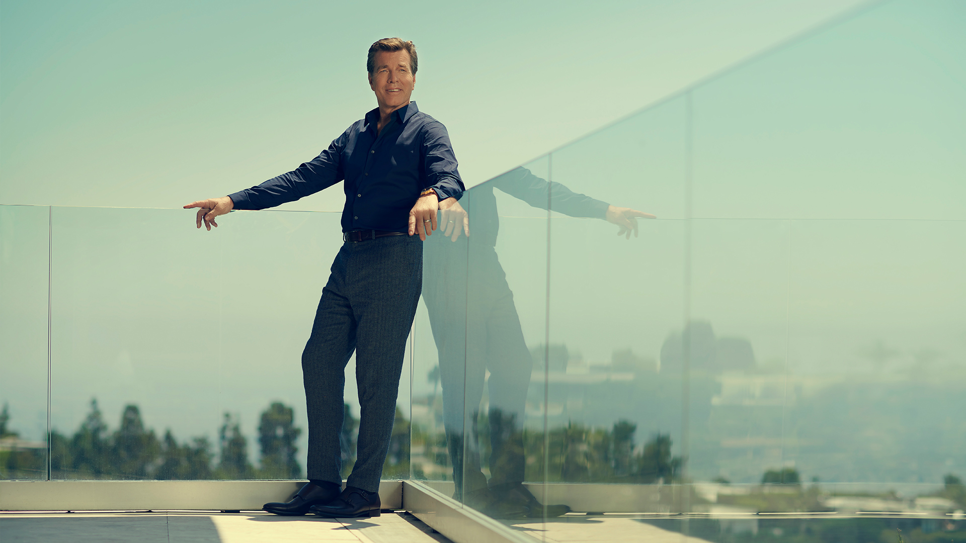 The Young and the Restless' Peter Bergman is dapper, dashing, and still scaling new heights