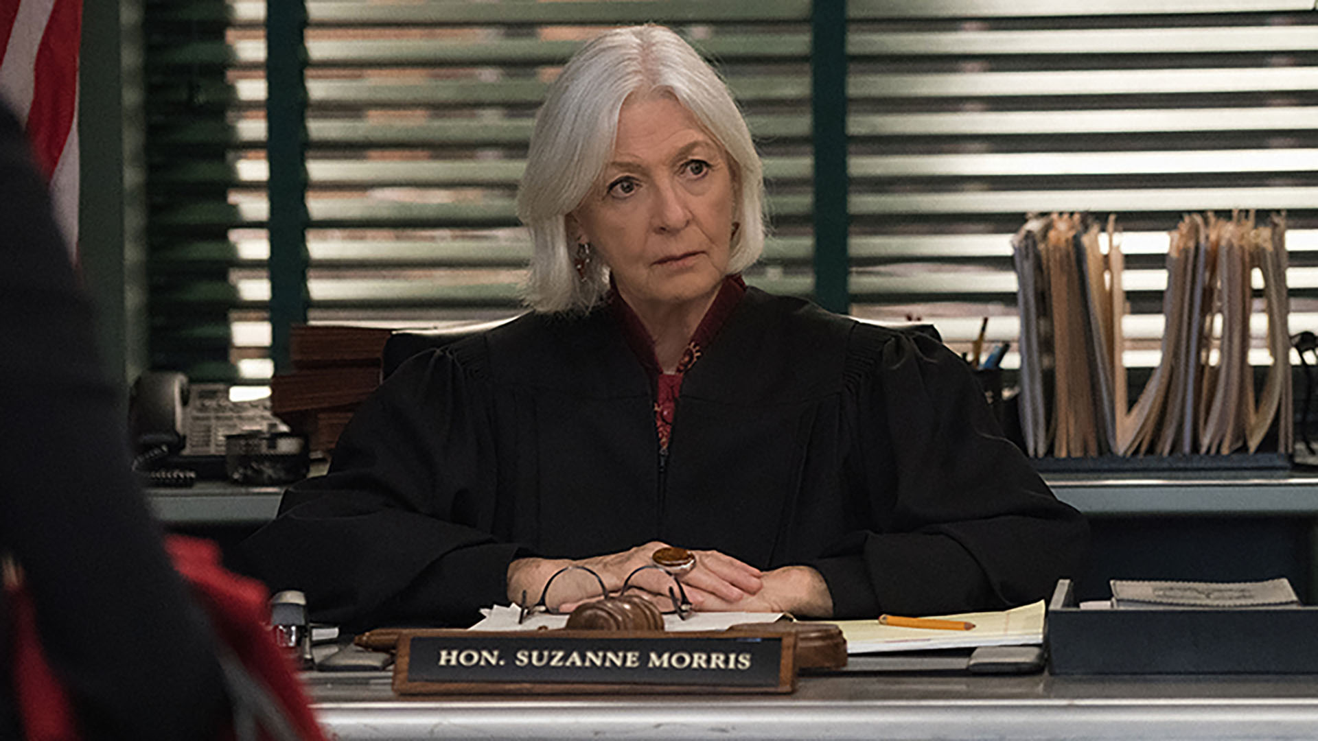 Jane Alexander as Judge Suzanne Morris
