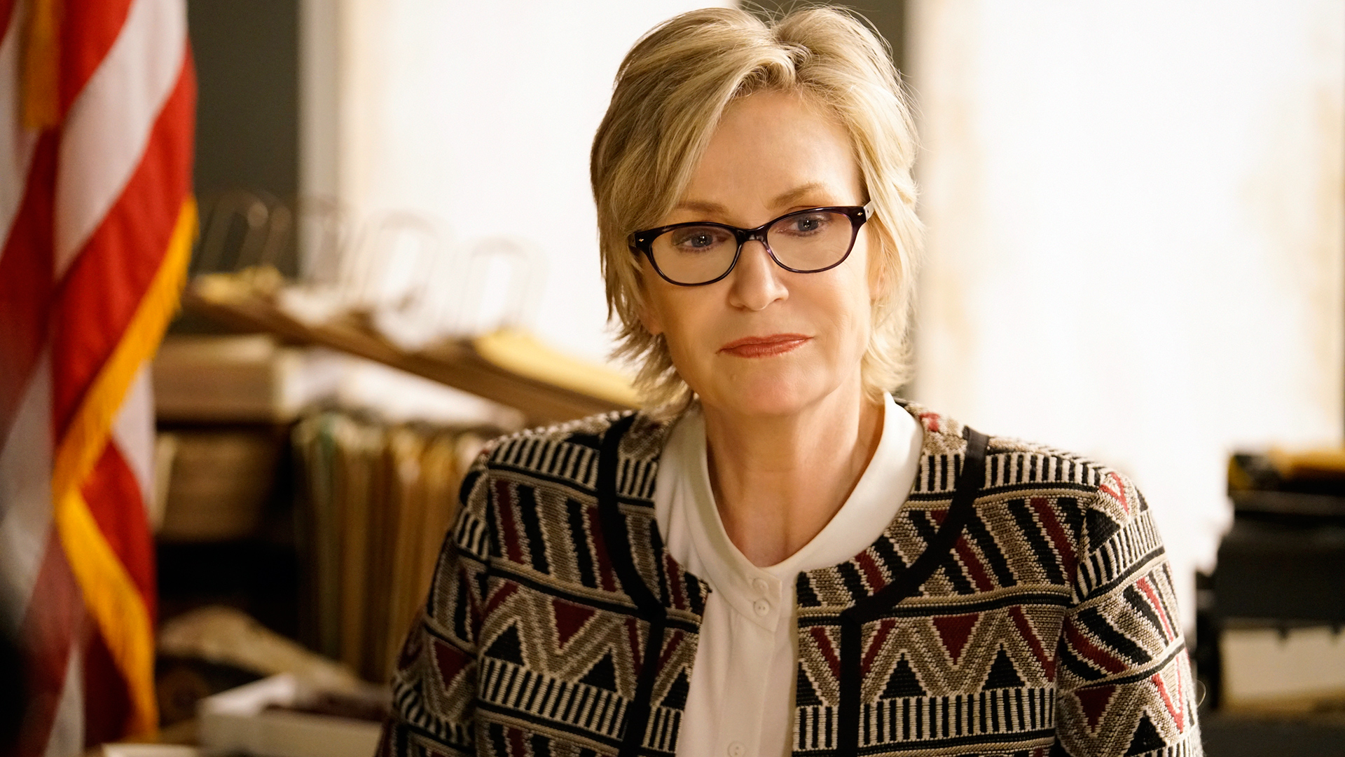 Jane Lynch as FBI Investigator Madeline Starkey