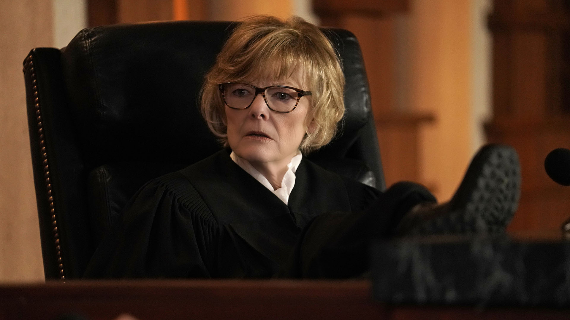Jane Curtin as Judge Pamela Farley