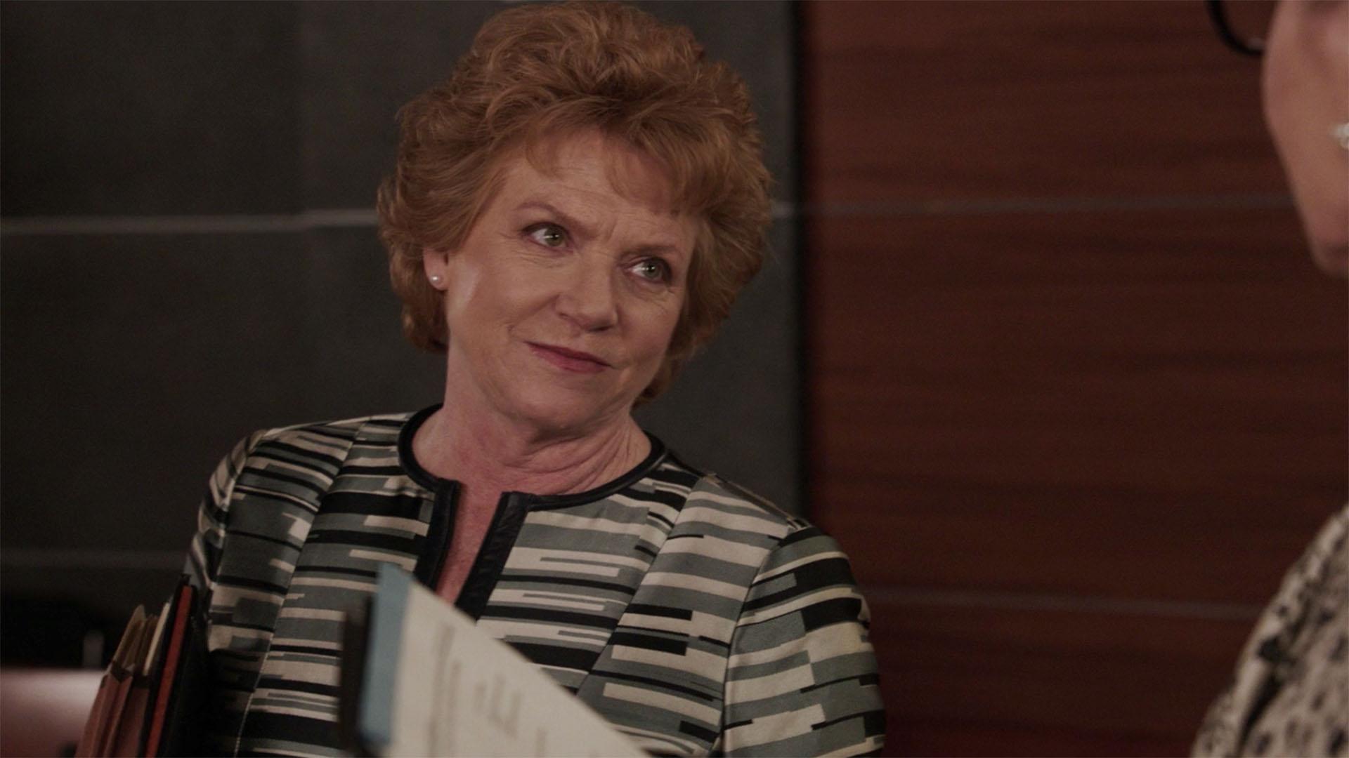Becky Ann Baker as Alma Hoff