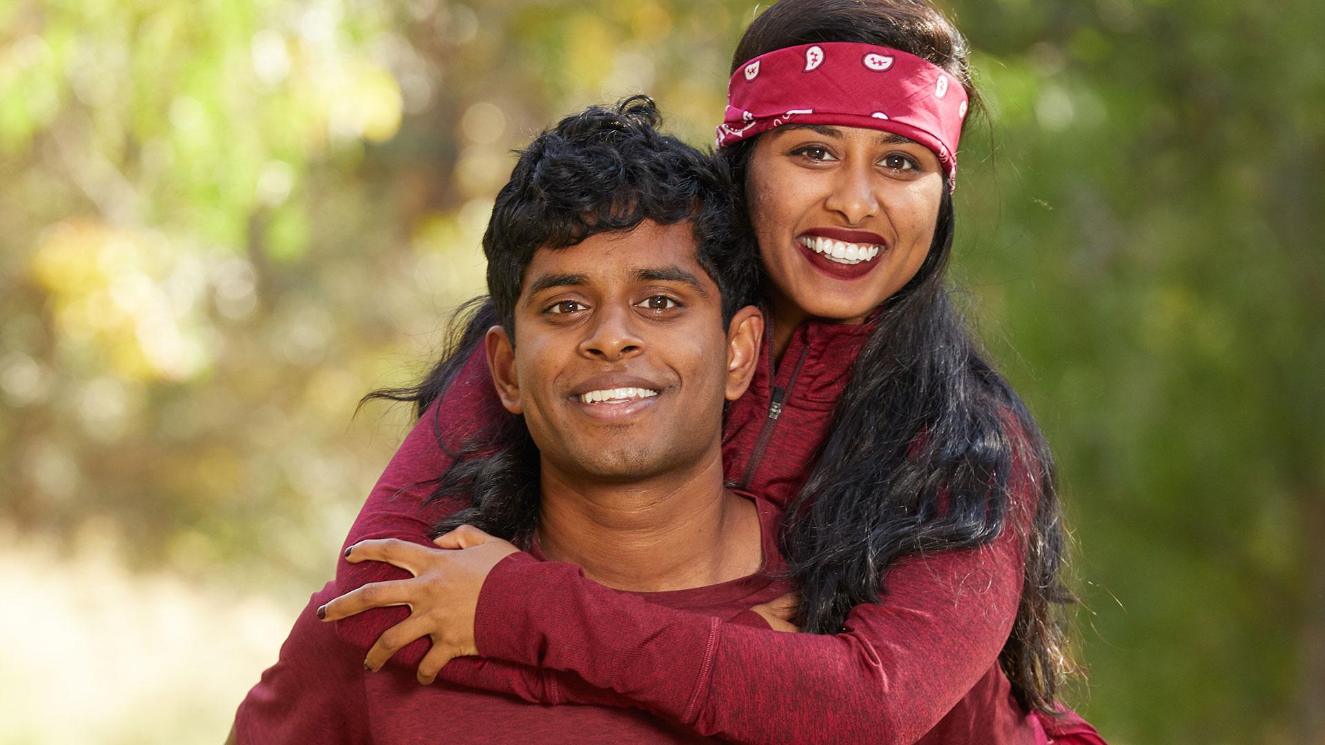 Aparna and Eswar (siblings)