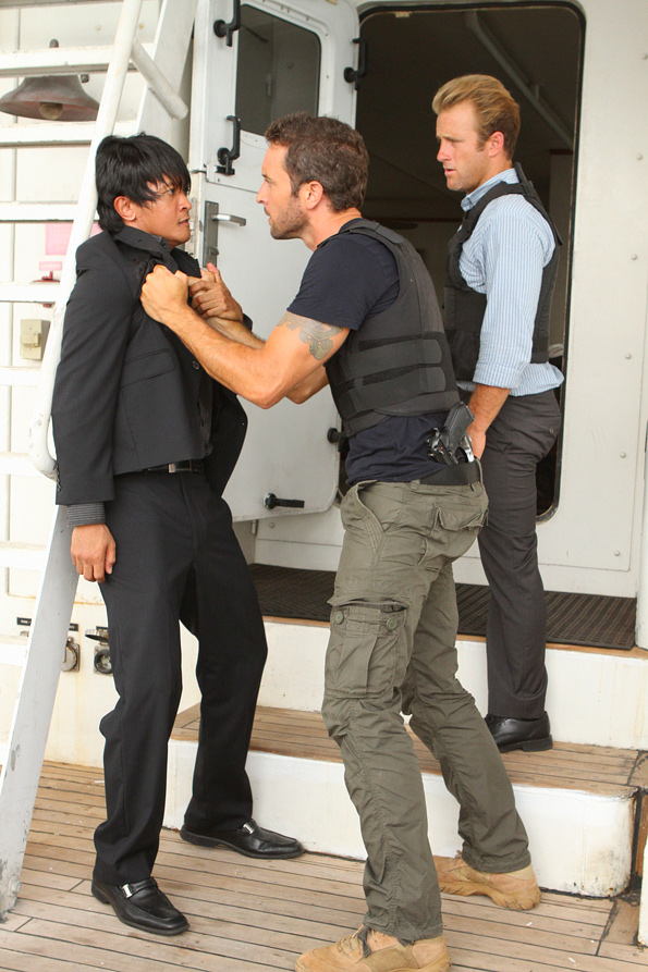 Steve McGarrett and Danno Williams