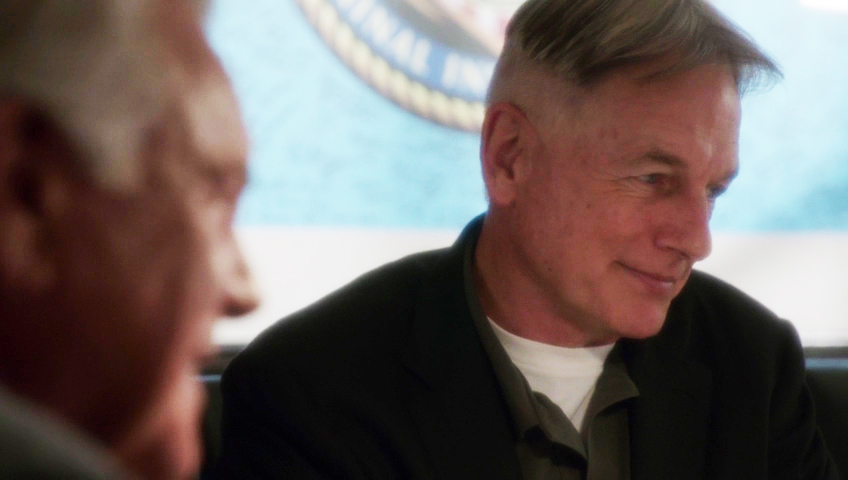 He can make Gibbs smile