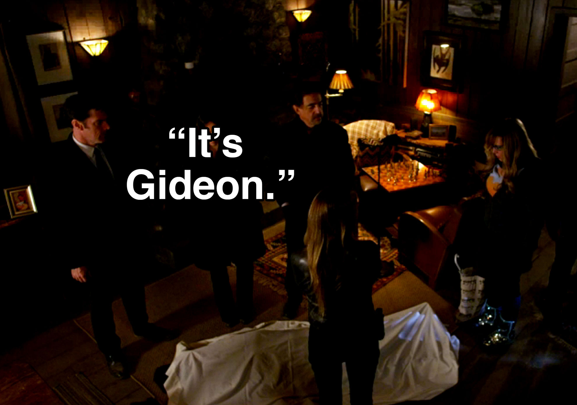 SSA Jason Gideon was murdered.