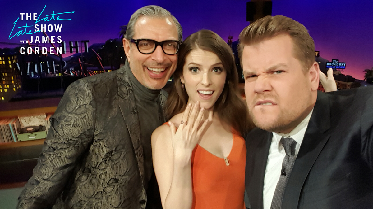 Jeff Goldblum and Anna Kendrick