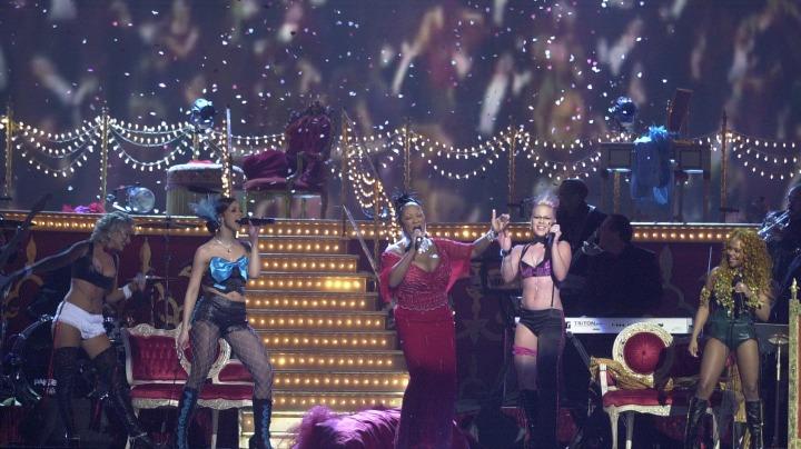 Christina Aguilera, Mya, Pink, Pattie LaBelle, and Lil' Kim (2002)
