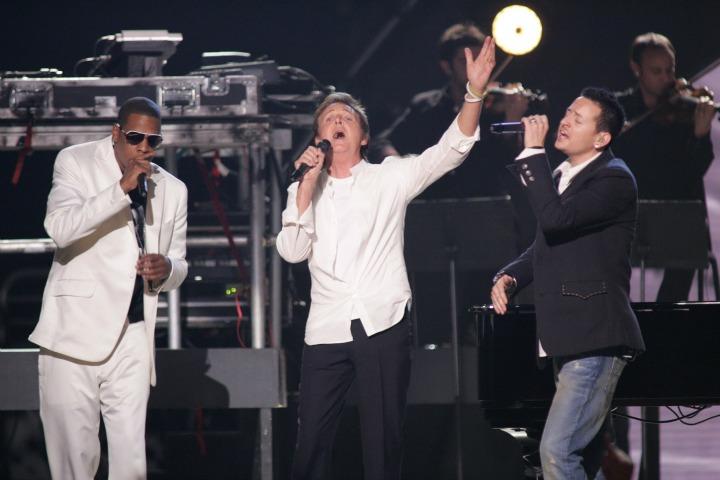 Jay-Z, Paul McCartney, and Linkin Park (2006)