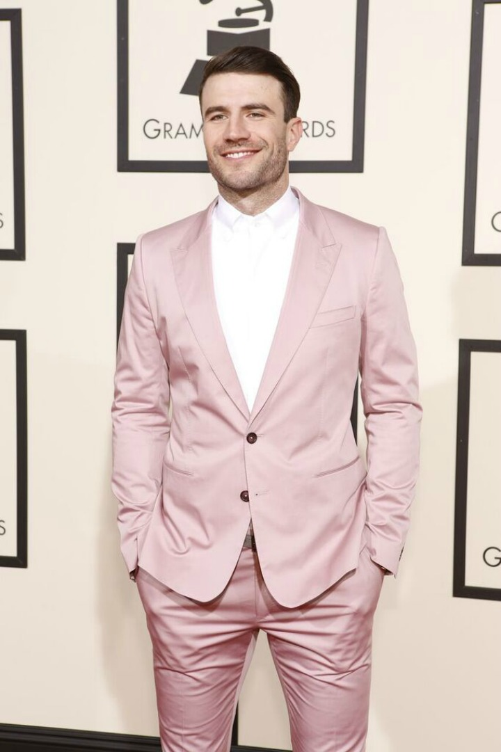 Sam Hunt gave us butterflies in a rose-colored suit.