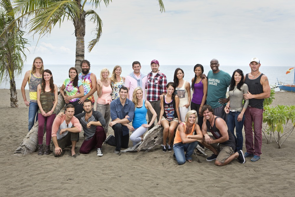 Cast of Survivor: Blood vs. Water