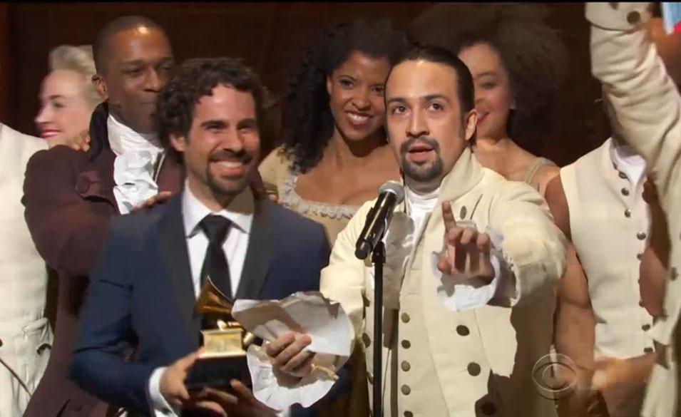Hamilton: Best Musical Theater Album
