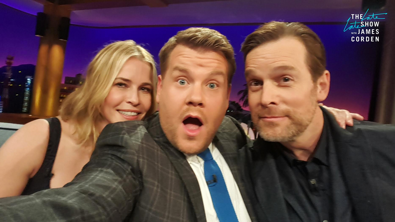 Chelsea Handler and Peter Krause