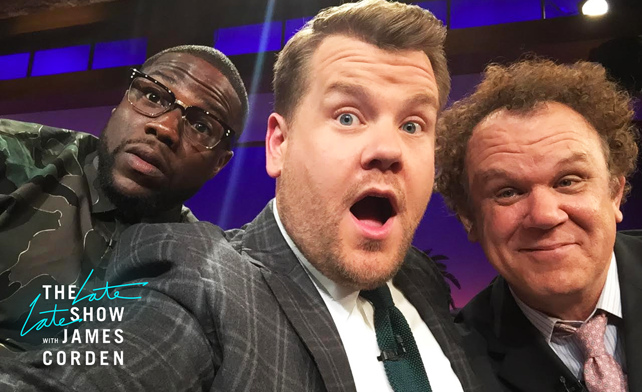 Kevin Hart and John C. Reilly