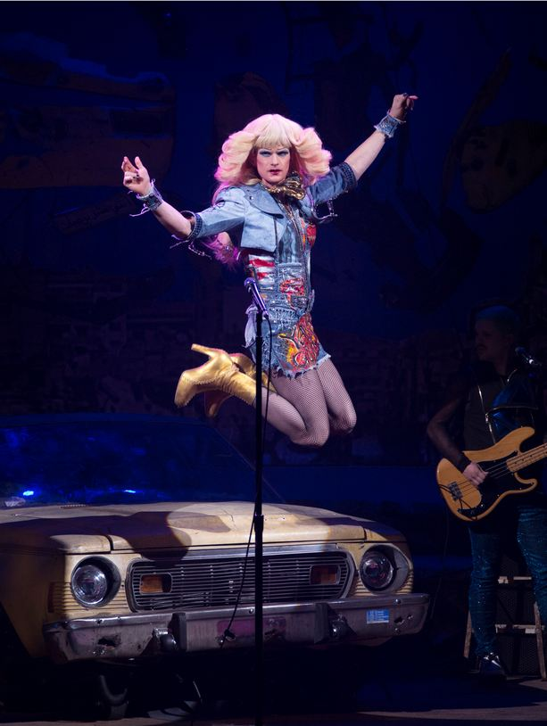 4: The height(in inches) of Neil Patrick Harris's highest pair of heels worn in Hedwig