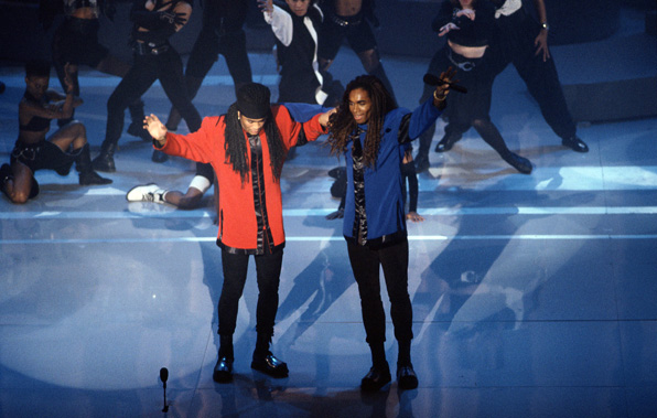 Milli Vanilli Make Their Mark
