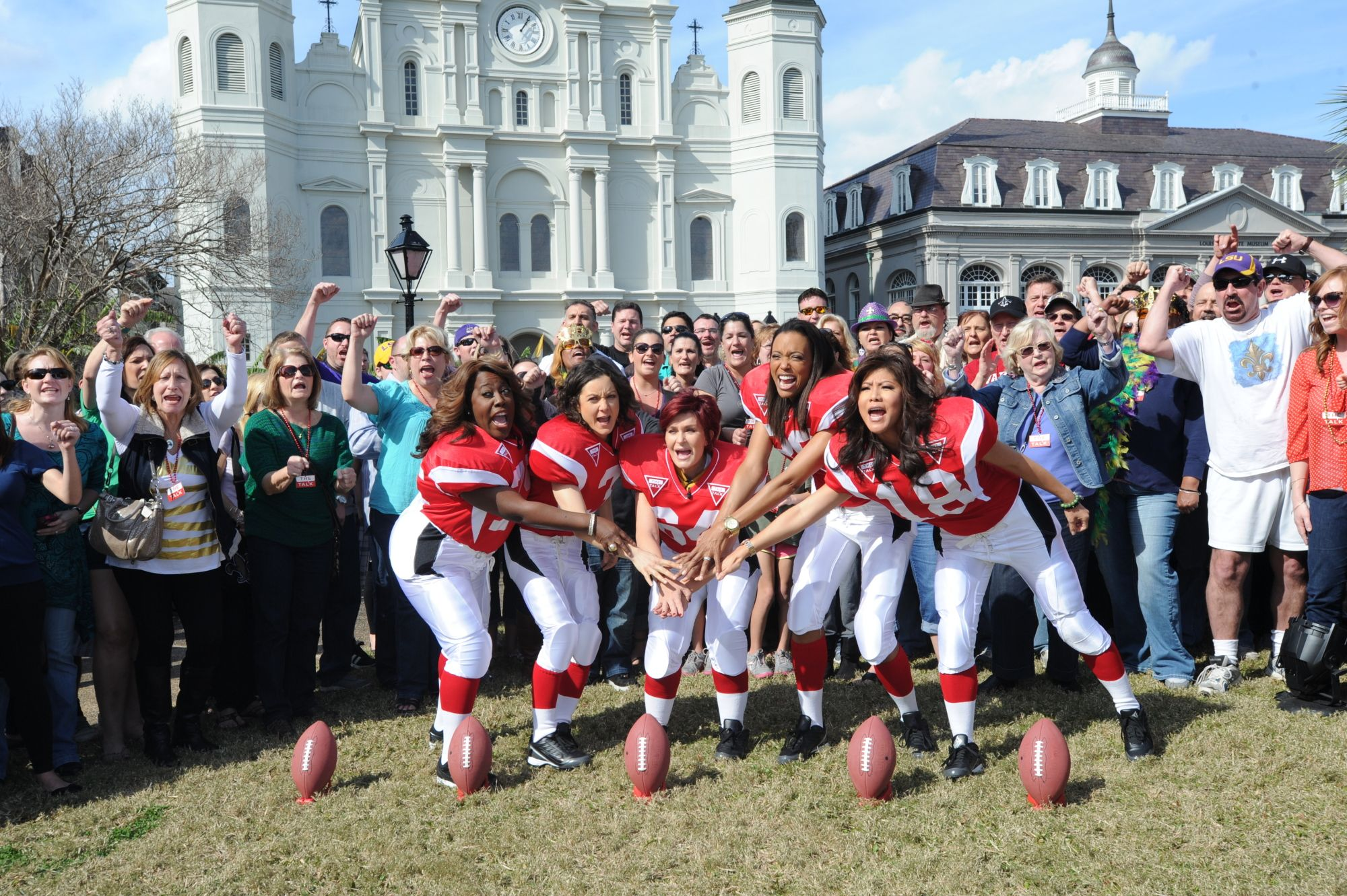 The Ladies Touchdown in The Big Easy!
