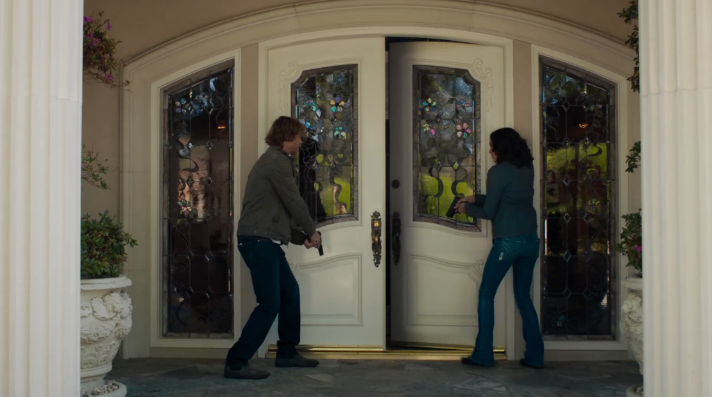 When did we first see Arkady's house?