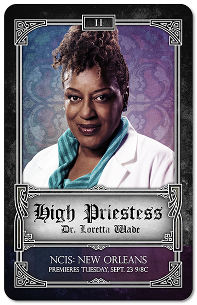 NCIS New Orleans Tarot Cards - High Priestess