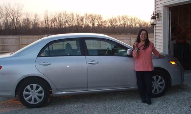 Kate's Toyota Corolla