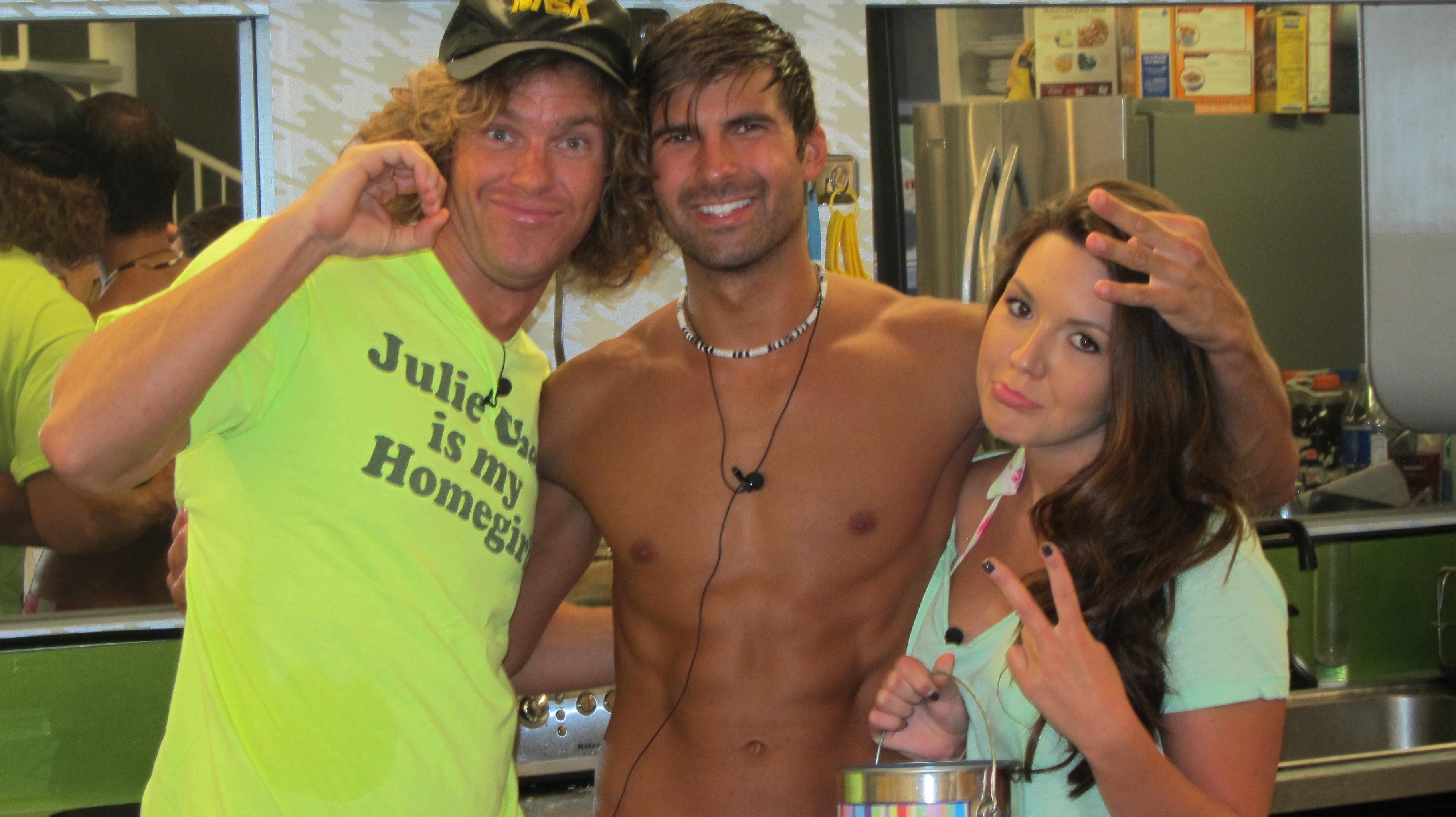 Frank, Shane and Danielle