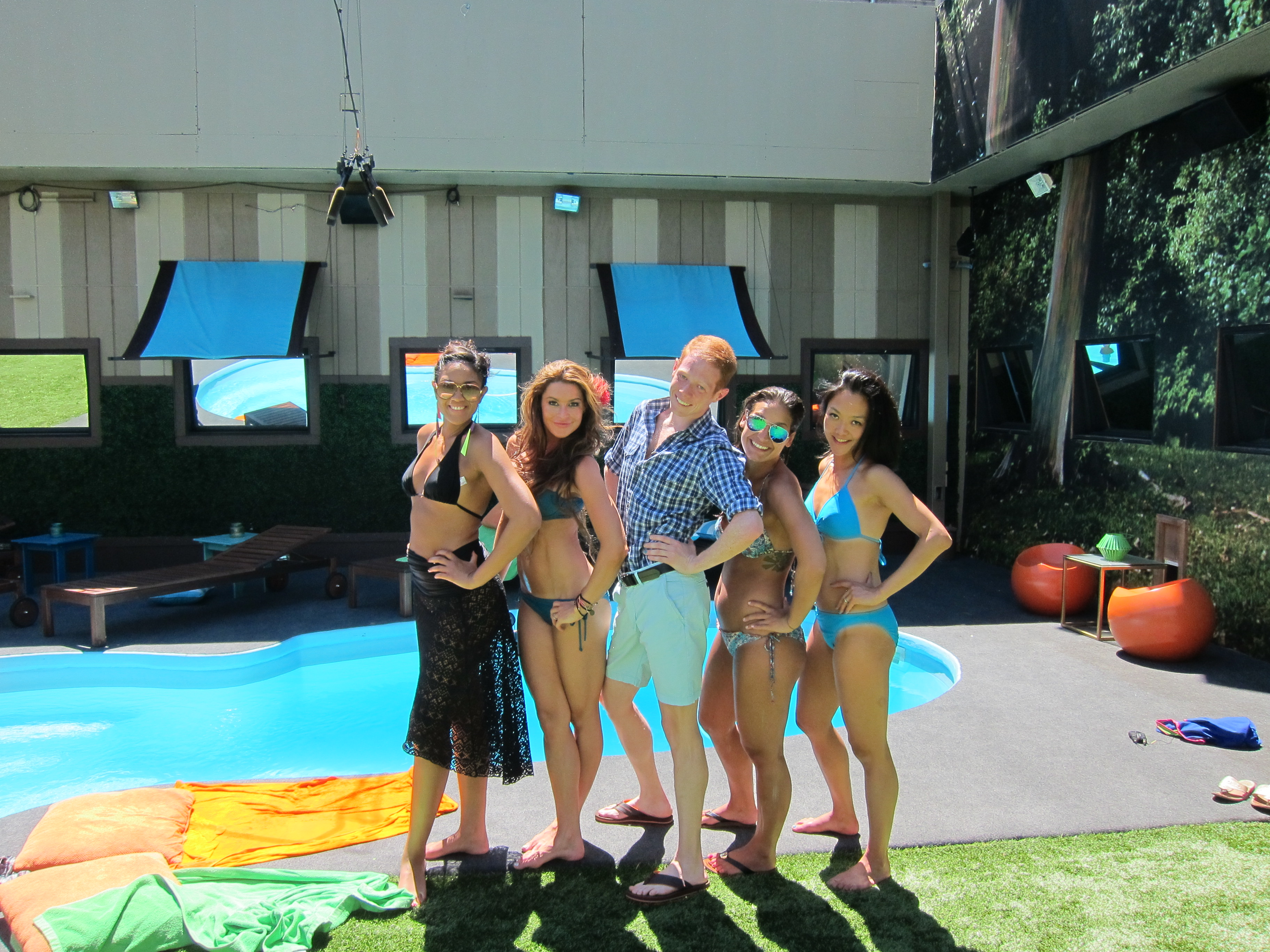 Candice, Elissa, Andy, Jessie and Helen
