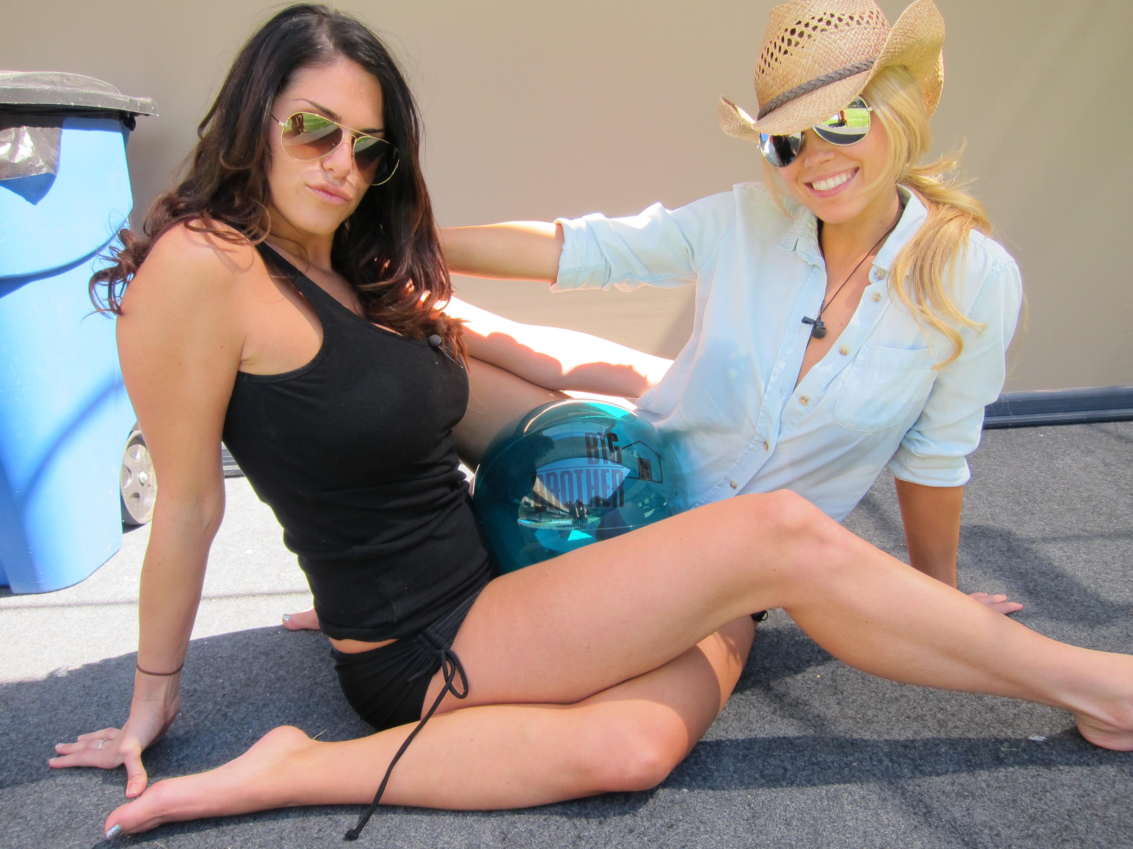 Amanda and Aaryn