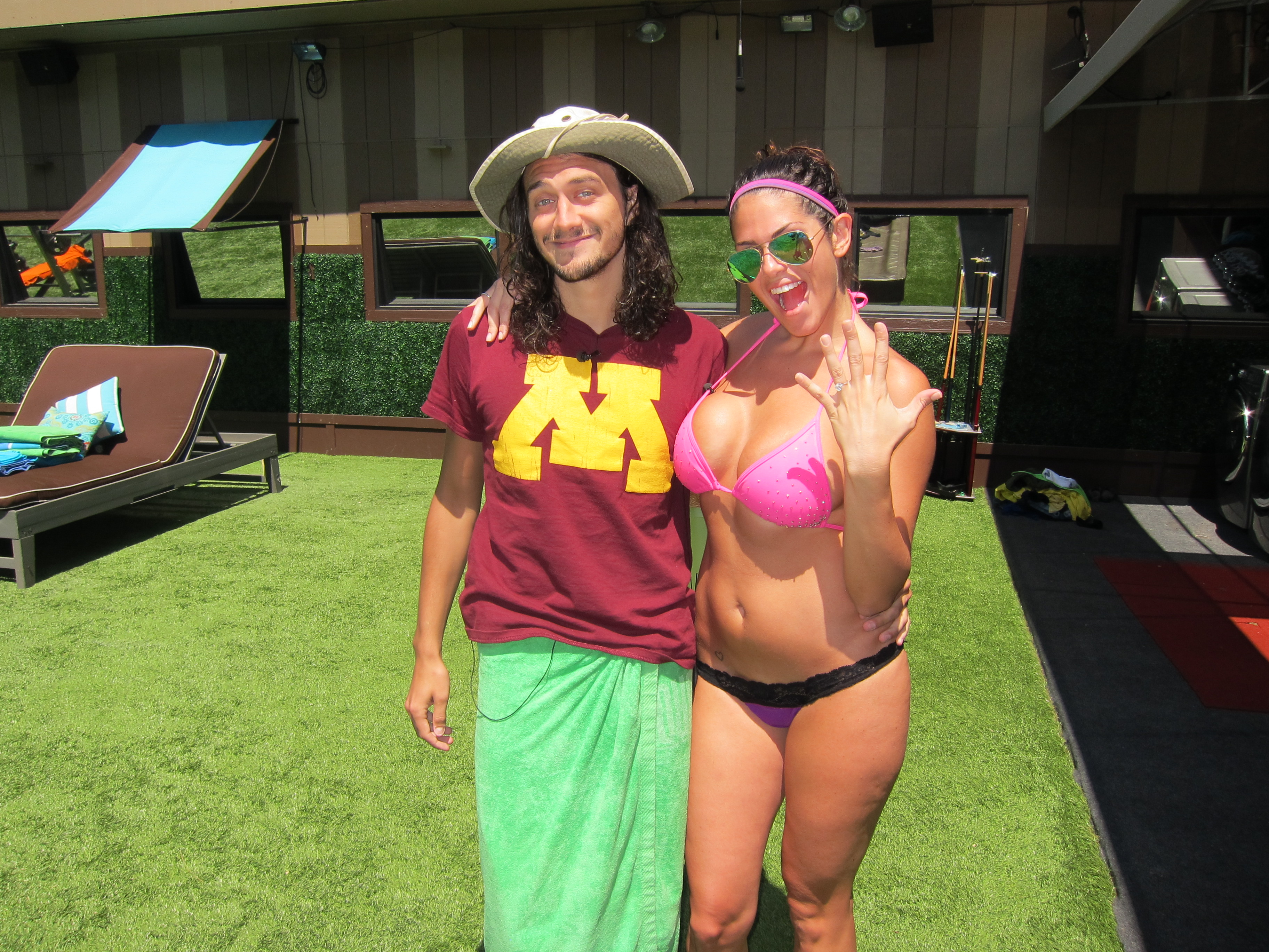 McCrae and Amanda