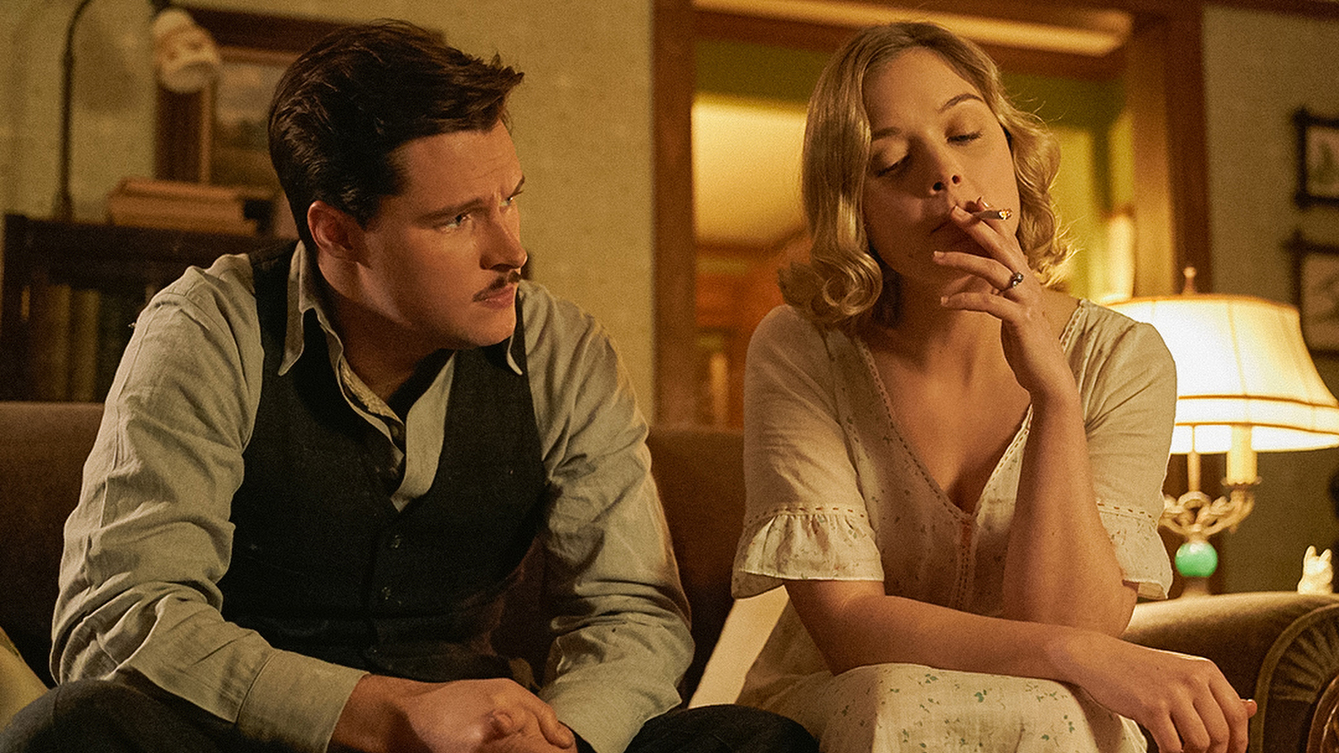 Jack Parsons (Jack Reynor) and Susan Parsons (Bella Heathcoat)