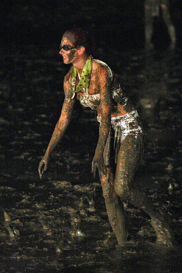 Jamie in the Mud Pit