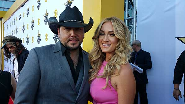 17. & 18. Jason Aldean and Brittany Kerr