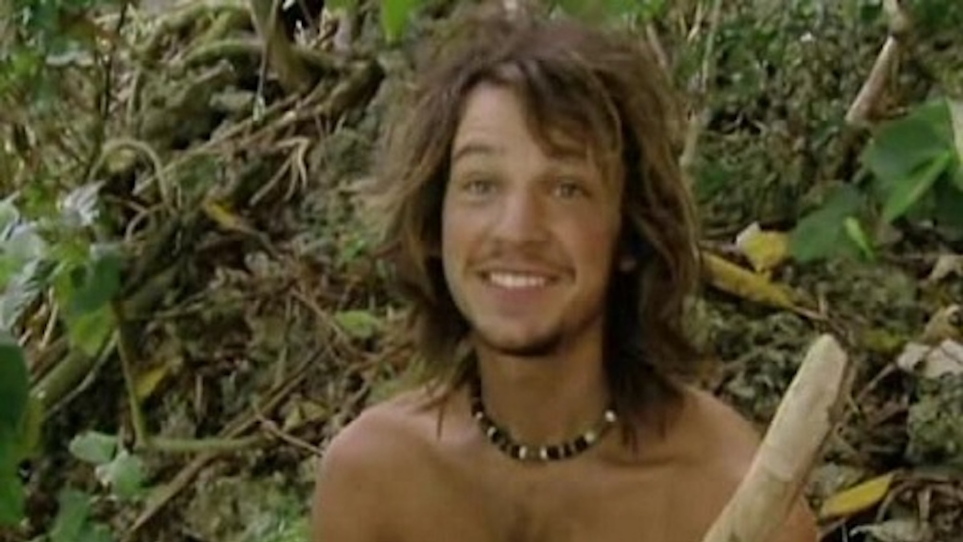 Jason Siska fell for a stick on Survivor: Micronesia
