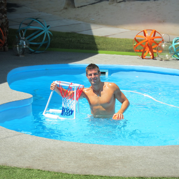 Jeff in the Pool