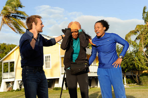Kisha and Jen Win the Amazing Race!