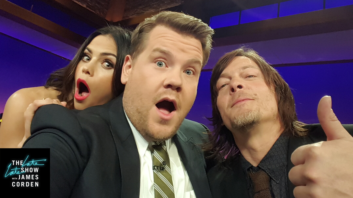 Jenna Dewan Tatum and Norman Reedus