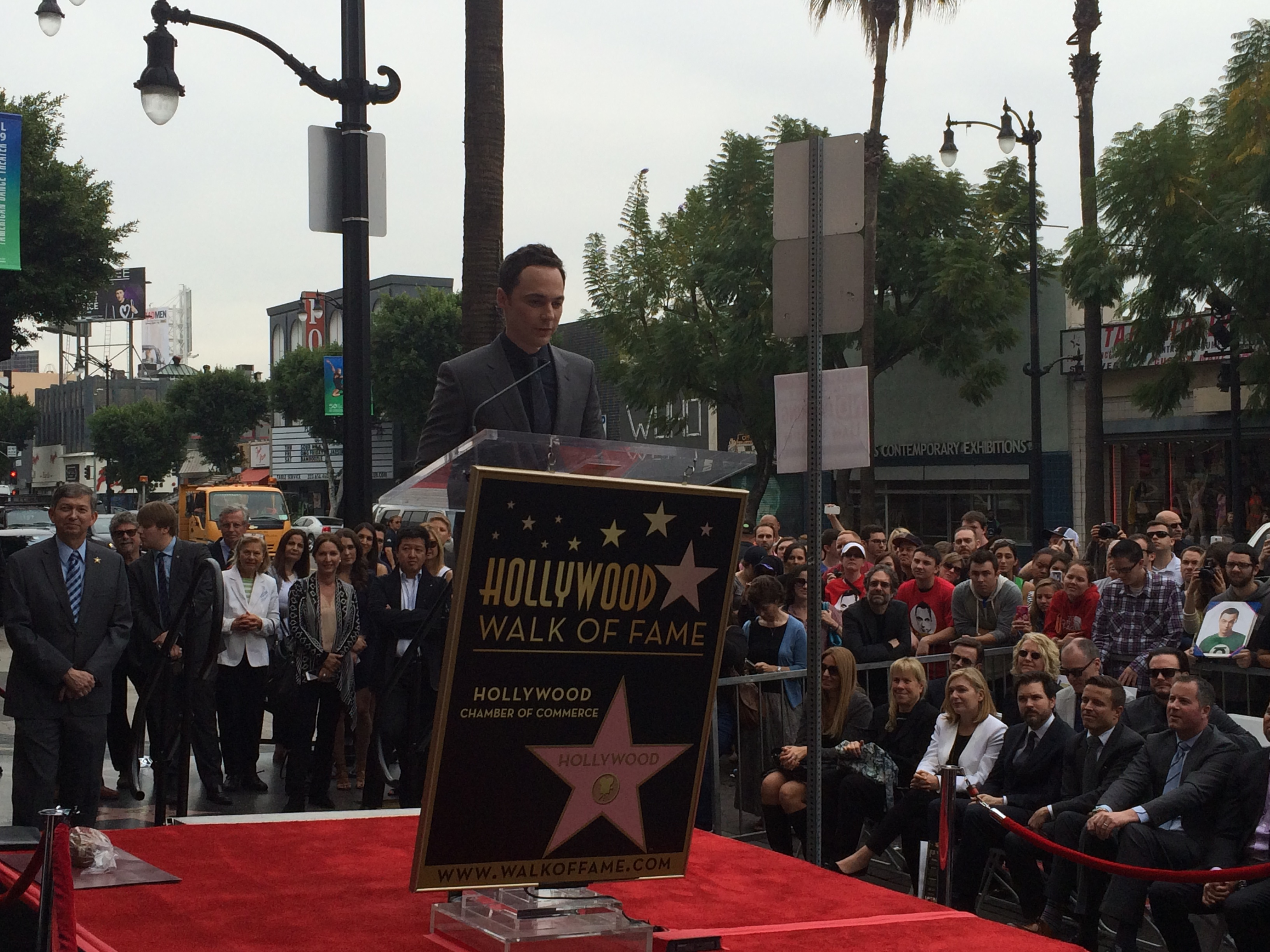Jim at the podium