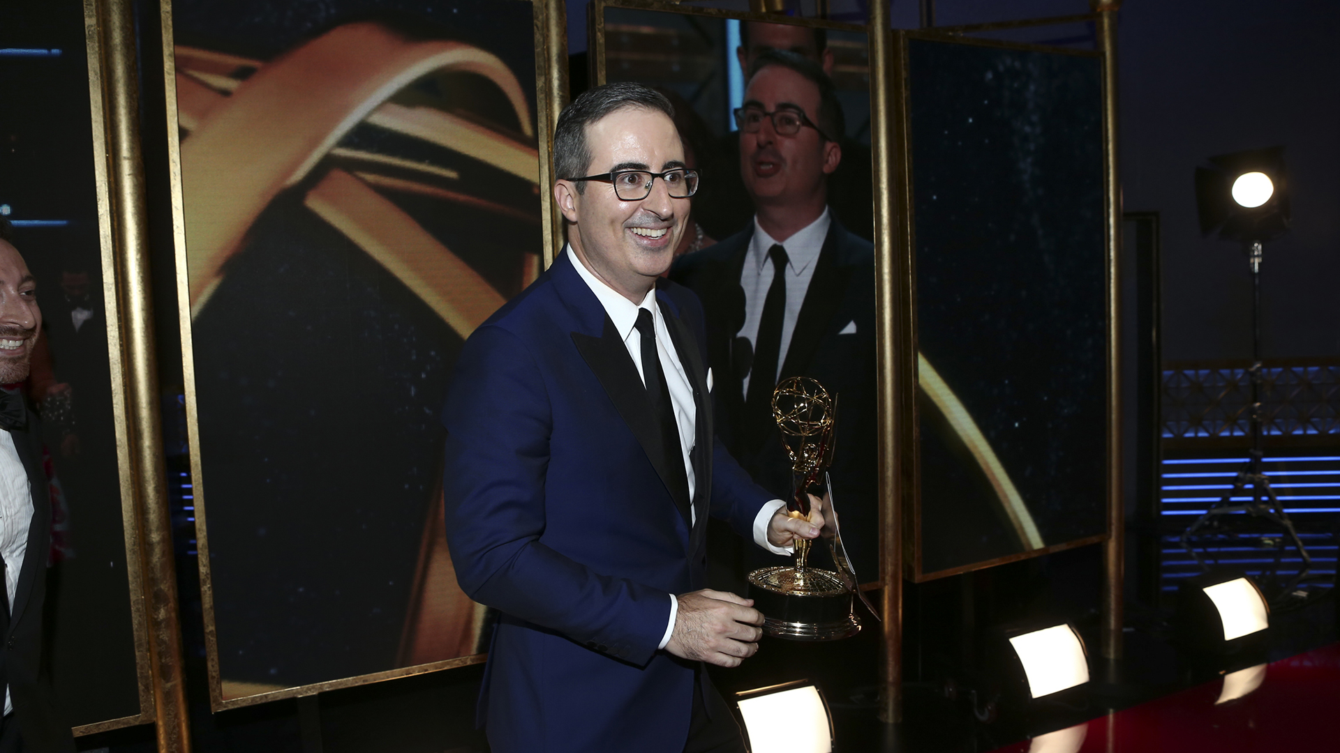 Last Week Tonight With John Oliver wins Outstanding Writing for a Variety Series at The 69th Emmy Awards.