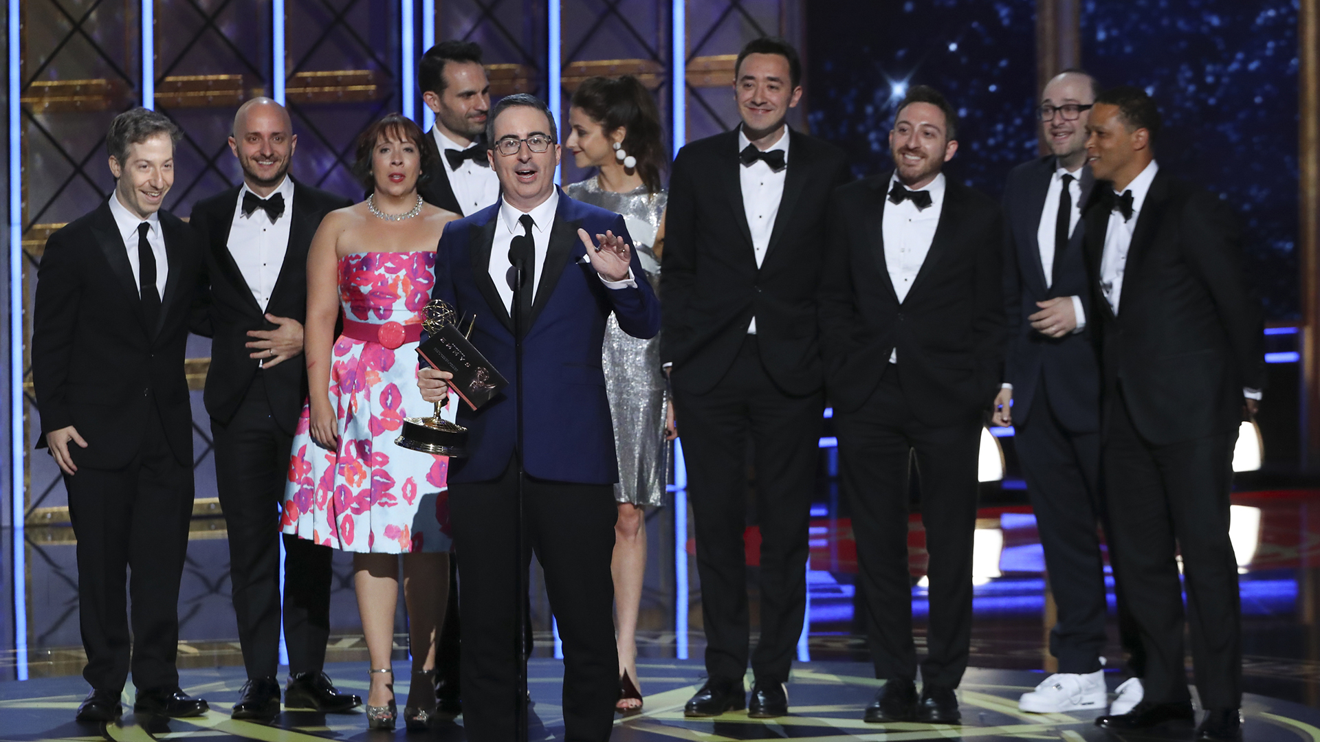 Last Week Tonight wins Outstanding Variety Talk Series at The 69th Emmy Awards.