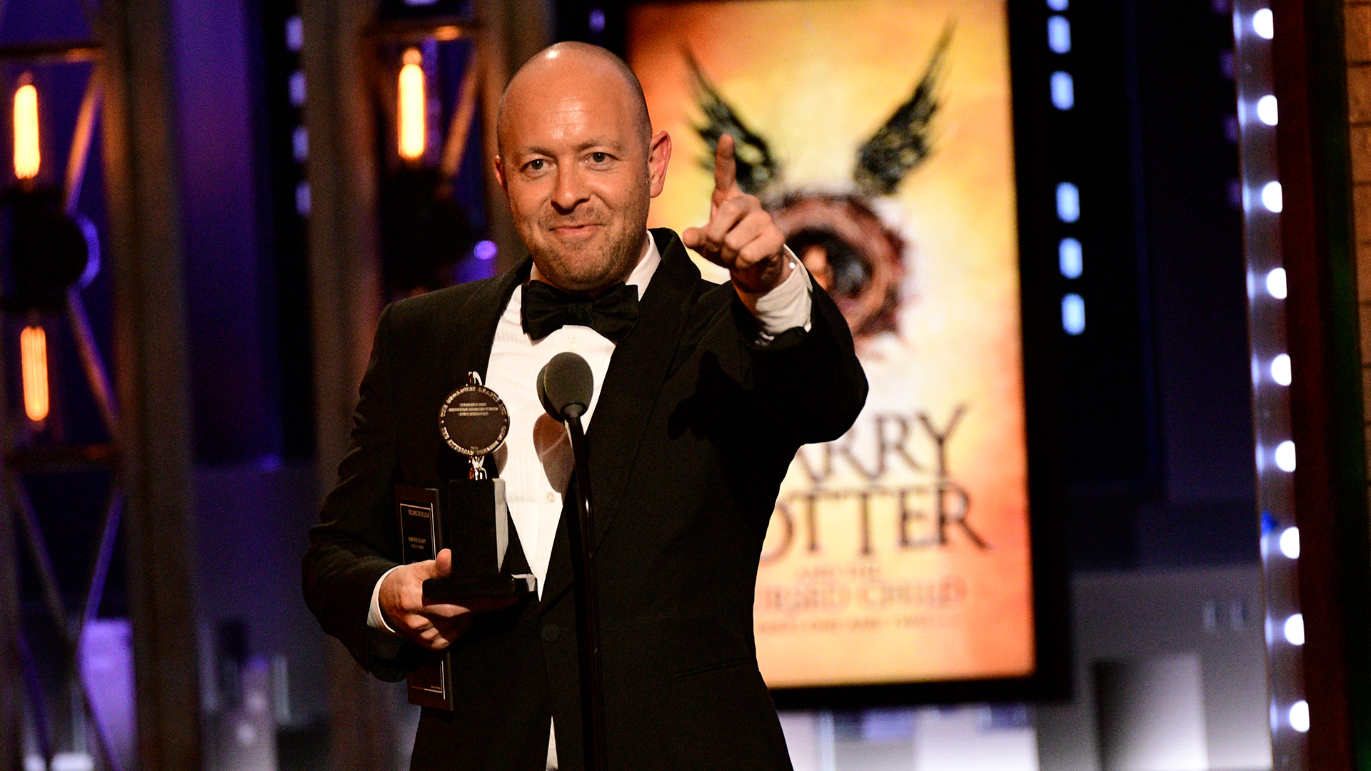 John Tiffany wins Best Direction of a Play at the 2018 Tony Awards.